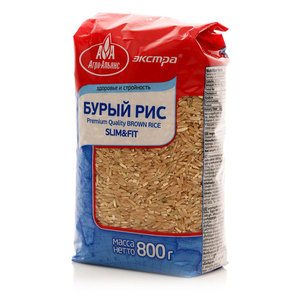 Рис бурый ТМ Агро-Альянс