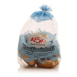 Бублик ванильный Vaniljarikeli 6*43 г ТМ Kesk