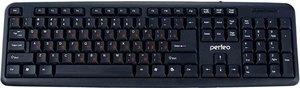 Клавиатура PF-6106-USB черная ТМ Perfeo (Перфео)
