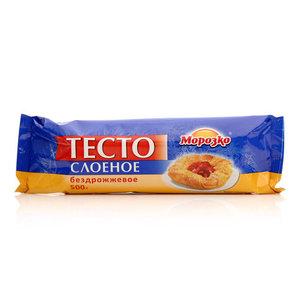 Тесто слоеное бездрожжевое ТМ Морозко