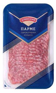 Сырокопченая колбаса Парме ТМ Клинский