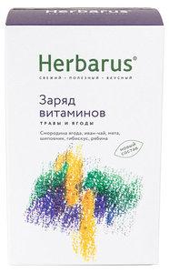 Чай Заряд витаминов листовой ТМ Herbarus (Гербариус)