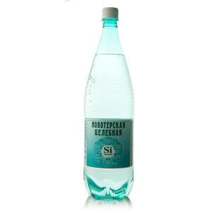 Вода минеральная новотерская целебная газированная ТМ Новотерская