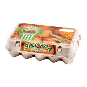 Яйцо куриное Экстра СО 15 шт ТМ Роскар