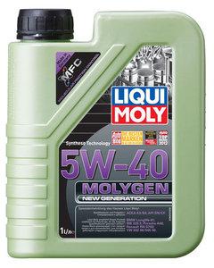 Масло моторное Molygen New Generation 5W40 синтетическое ТМ Liqui Moly (Ликви Моли)