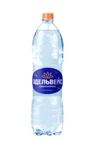 Вода газированная минеральная ТМ Эдельвейс