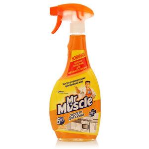 Средство для мытья и чистки кухонных поверхностей ТМ Mr. Muscle (Мистер Мускл) Свежесть лимона