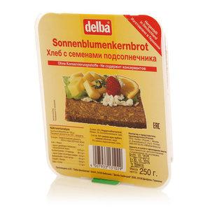 Хлеб с семенами подсолнечникаTM Delba (Делба)