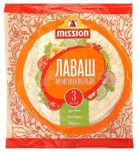 Лаваш пшеничный Оригинальный 3 шт ТМ Mission (Миссия)