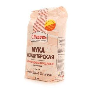 Мука пшеничная кондитерская самоподнимающаяся ТМ С. Пудовъ