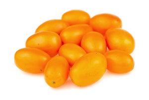 Томат жёлтый сливовидный фасованный ТМ Долина Овощей