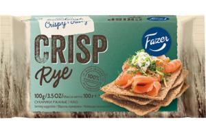 Сухарики ржаные Crisp Rye (Крисп Рай) ТМ Fazer (Фацер)