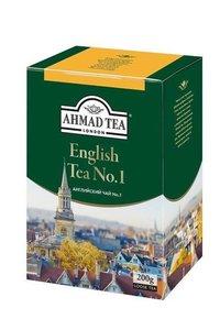 Чай чёрный заварной с ароматом бергамота English Tea №1 (Английский Чай №1) ТМ Ahmad Tea (Ахмад Ти)