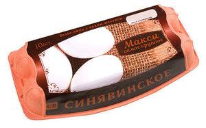 Яйцо куриное Макси самое крупное СВ 10шт ТМ Синявинское