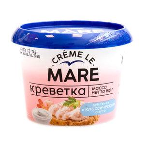 Креветка рубленая Creme Le Mare (Крем Ле Маре) в классическом соусе ТМ Балтийский берег