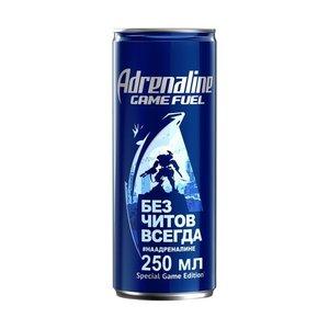 Напиток энергетический - игровая энергия ТМ Adrenaline (Адреналин)
