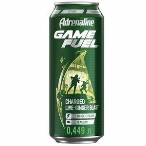 Напиток энергетический со вкусом имбиря и лайма ТМ Adrenaline Rush (Адреналин Раш)