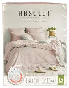 Постельное белье комплект 1,5-спальный Desert Rose (Дезерт Роуз) хлопок ТМ Absolut (Абсолют)