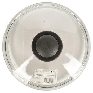 Крышка безободковая Basic (Базик) стеклянная 22 см ТМ Hitt (Хитт)