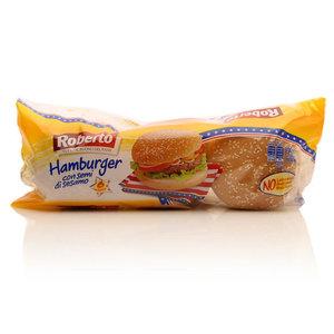 Булочки для гамбургеров с кунжутом ТМ Roberto (Роберто)