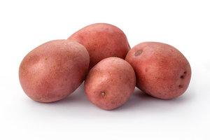 Картофель мытый красный