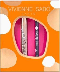 Подарочный набор женский Тушь и Карандаш для глаз ТМ Vivienne Sabo (Вивьенн Сабо)