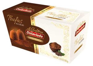 Конфеты шоколадные Трюфели с какао ТМ Delaviuda (Делавиуда)