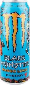 Энергетический напиток безалкогольный Mango loco energy (Манго локо энерджи) ТМ Black monster (Блек Монстр)