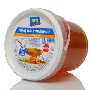 Мед натуральный цветочный ТМ Aro (Аро)