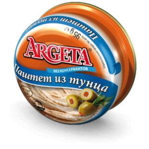 Паштет из тунца ТМ Argeta (Аргета)