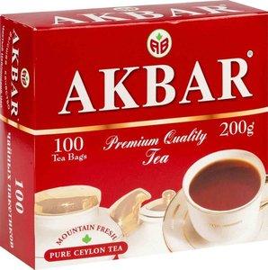 Чай черный цейлонский 100*2 г ТМ Akbar (Акбар)