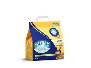 Наполнитель для кошачьего туалета комкающийся, 5 л ТМ Catsan (Катсан)