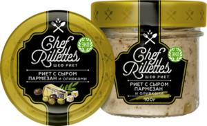 Риет с сыром пармезан и оливками ТМ Путина
