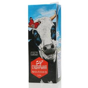 Молоко ультрапастеризованное 3,2% ТМ Сударыня