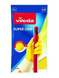 Перчатки Супер Грип с хлопком L ТМ Vileda (Виледа)