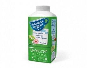 Биокефир 1% ТМ Большая Кружка