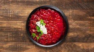 Борщ суп замороженный ТМ ВкусВилл