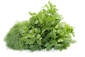 Ассорти свежей зелени из укропа и петрушки ТМ Зелёная Долина