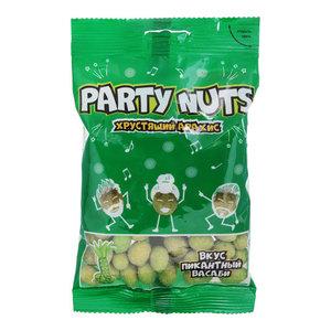 Арахис в хрустящей глазури пикантный васаби ТМ Party Nuts (Пати Натс)