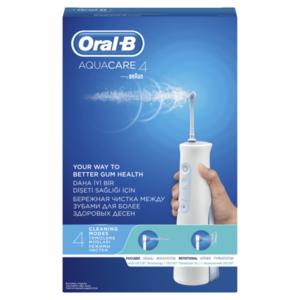 Ирригатор для полости рта Aquacare 4 (Аквакеа 4) стехнологией Oxyjet (Оксиджет) ТМ Oral-B (Орал-Би)