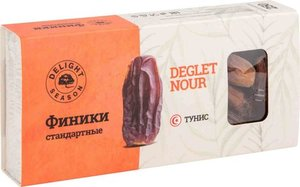 Финики сушёные Deglet Nour (Деглет Ноур) стандартные ТМ Delight Season (Делайт Сизон)