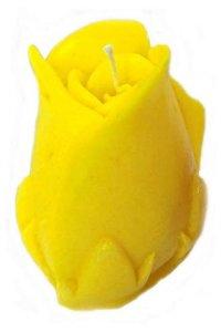 Свеча ароматическая - бутон розы