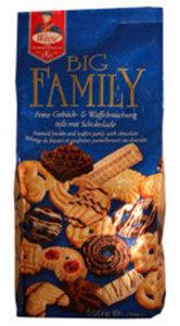 Смесь печенья и вафель частично с шоколадом Big Family ТМ Weese