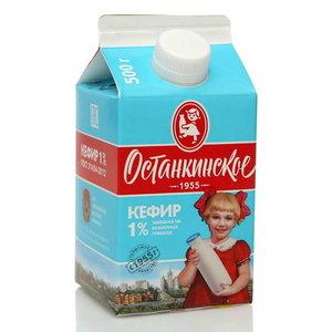 Кефир 1% ТМ Останкинское