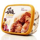 Мороженое закаленное пломбир с сыром маскарпоне, кофейным соусом, печеньем, вином Марсала и какао. ТМ Viva la Crema (Вива ла крема) 14,6%
