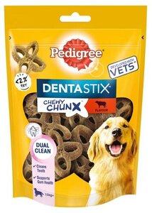 Лакомство для взрослых собак средних и крупных пород Denta stix (Дента стикс) со вкусом говядины ТМ Pedigree (Педигри)