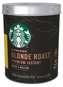 Кофе растворимый Premium Instant Blonde Roast (Премиум Инстант Блонд Роаст) ТМ Starbucks (Старбакс)