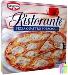 Пицца глубокой заморозки Ristorante Четыре сыра ТМ Dr.Oetker (Др.Оеткер)