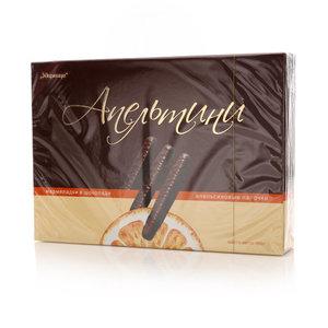 Мармелад в шоколаде Апельсиновые палочки ТМ Апельтини
