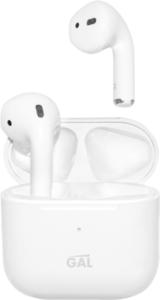 Наушники беспроводные Bluetooth TW-3100 с микрофоном белые ТМ Gal (Гал)
